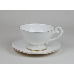 Prometeusz tea cup with gold stripe