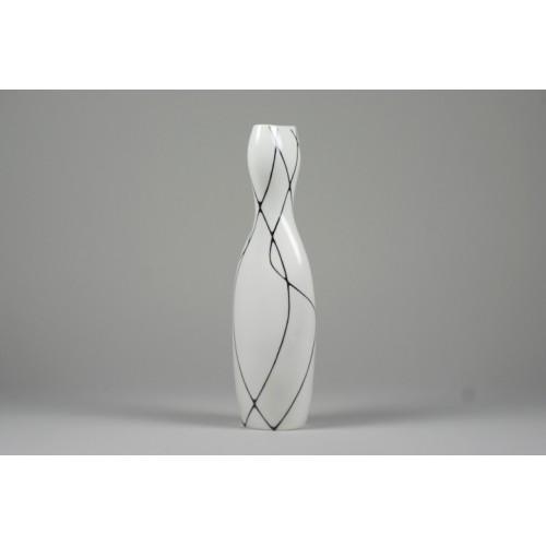 Ninepin vase (large) - biały