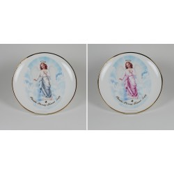 Decorative plate with Angel