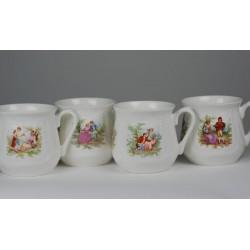 Silesian mug - decoration Lowicz