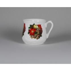 Kubek śląski (duży) - dekoracja Świąteczny stroik