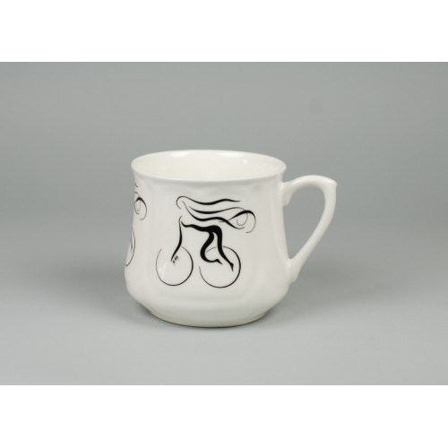Silesian mug (small) - decoration Alluring Girl