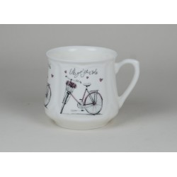Silesian mug (small) - decoration Bike
