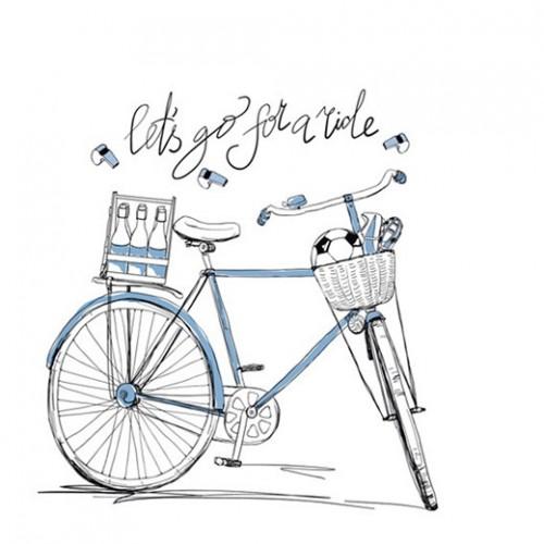 Kubek śląski (mały) - dekoracja Rower