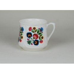 Silesian mug (small) - decoration Lowicz