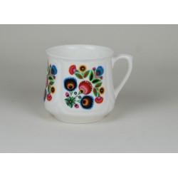 Silesian mug (small) - decoration Lowicz