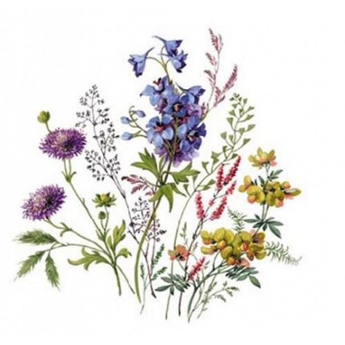 Kubek śląski (mały) - dekoracja kwiaty polne z dzwoneczkami