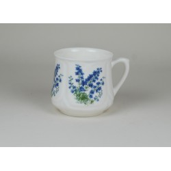 Silesian mug (small) - decoration Delphinium