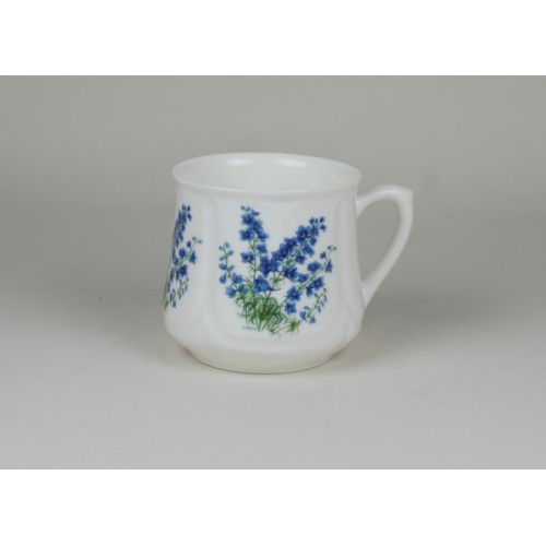 Silesian mug (small) - decoration Forget-me-not