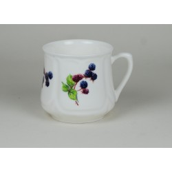 Silesian mug (small) - decoration Blackberries 2