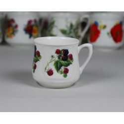 Silesian mug (small) - decoration Blackberries