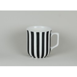 Cmielow mug - decoration Stripes