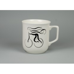 Cmielow mug - decoration Alluring Girl
