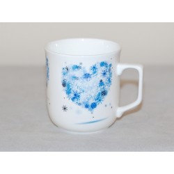 Cmielow mug - decoration Hart four Seasons - Winter