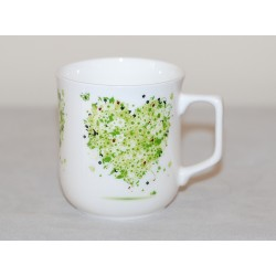 Cmielow mug - decoration Hart four Seasons - Spring