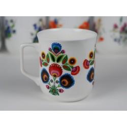 Cmielow mug - decoration Lowicz