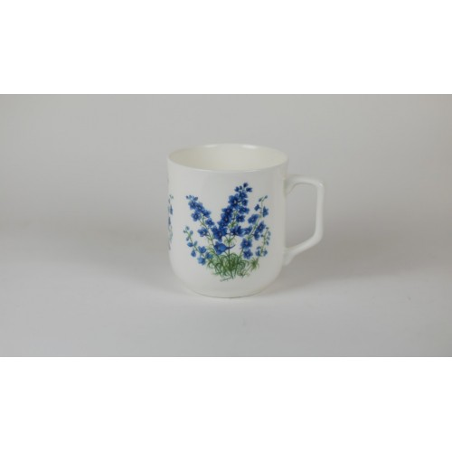Cmielow mug - decoration Delphinium