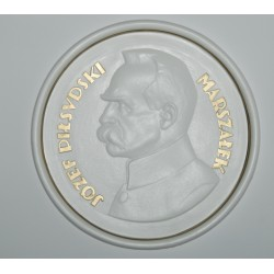 "Decorative plate ""Marshal - Jozef Pilsudski"""