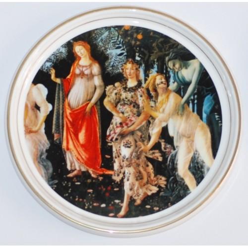"Decorative plate ""La Primavera"""
