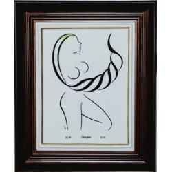 "Obraz porcelanowy ""Skorpion"""