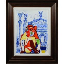 """Obraz porcelanowy """"Małpa Ukraińska"""""""