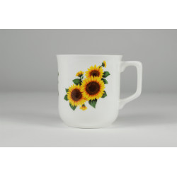 Cmielow mug - decoration Sunflowers