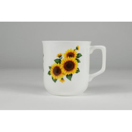 Cmielow mug - decoration Sunflowers