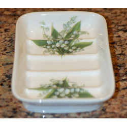 Porcelain soapholder