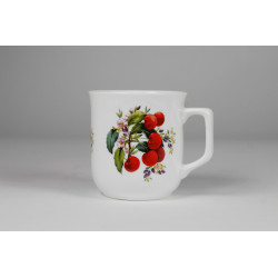 Cmielow mug - decoration Cherries