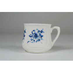 Silesian mug (small) - decoration Blue flowers