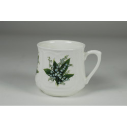 Silesian mug (small) - decoration lilies of the valley