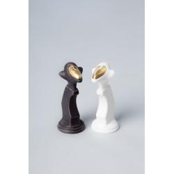 Porcelanowe Małpie Szachy