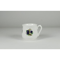 Silesian mug - decoration plums