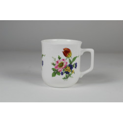 Cmielow mug - decoration wild Rose with tulip