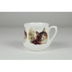 Kubek śląski (mały) - Kot dachowiec