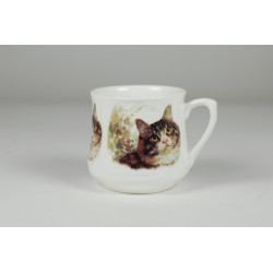 Silesian mug (small) - Roof cat