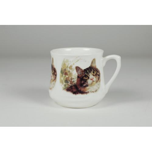 Silesian mug (small) - Roof cat