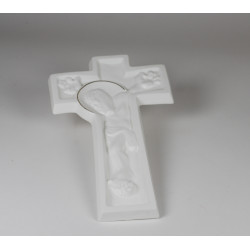 Krzyż porcelanowy