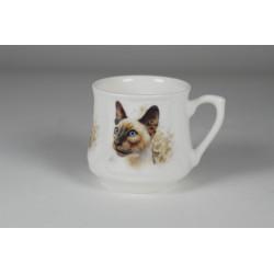 Kubek śląski (mały) - Kot syjamski