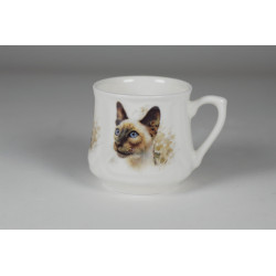 Silesian mug (small) - Simese cat