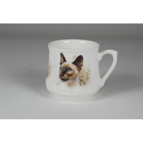 Silesian mug (small) - Simese cat