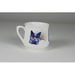 Silesian mug (small) - British cat