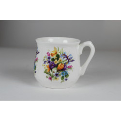 Silesian mug - decoration Spring bouquet