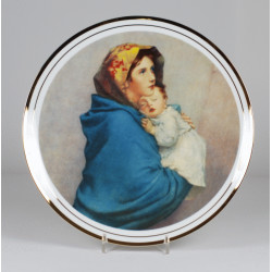 "Decorative plate ""Madonnina"""