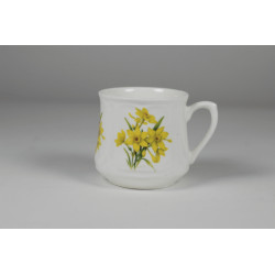 Silesian mug - decoration dafodils