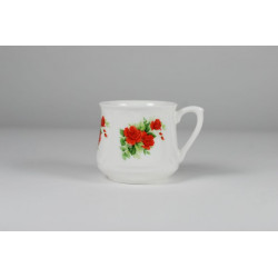 Silesian mug - decoration red roses