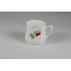 Kubek śląski (mały) - dekoracja maliny