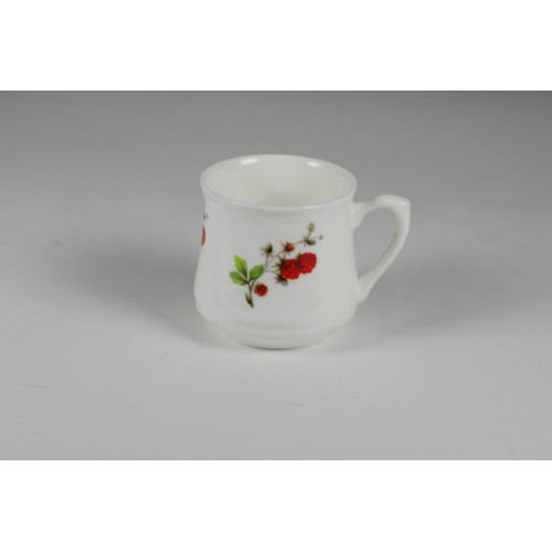 Silesian mug - decoration raspberries