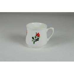 Silesian mug - decoration blueberries