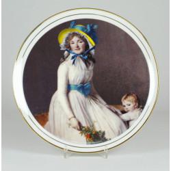 """Patera """"Portret kobiety z dzieckiem"""""""